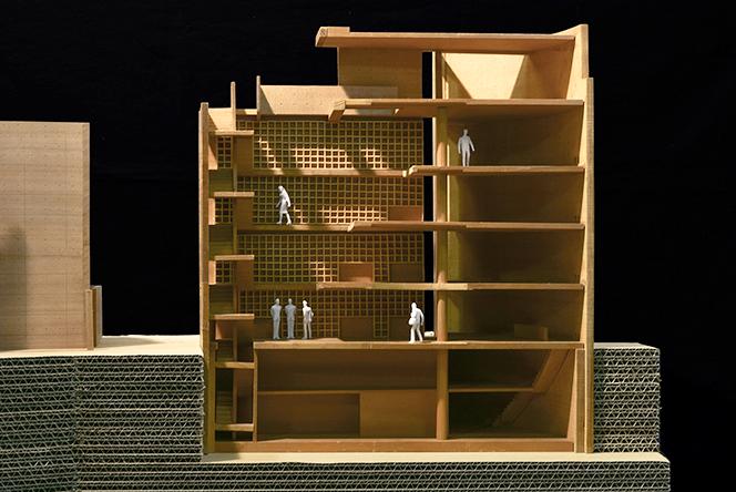 大淀のアトリエII 模型