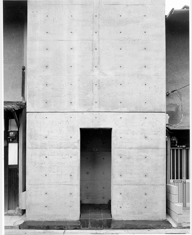 住吉の長屋, 大阪府大阪市, 1976年