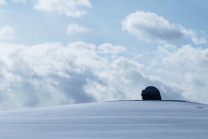 真駒内滝野霊園 頭大仏, 北海道札幌市, 2015年